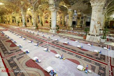 افطاری در حرم حضرت زهرا(س) 17