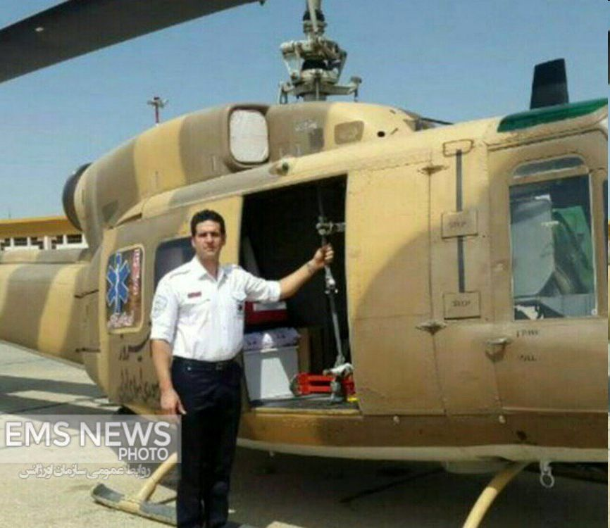 سقوط بالگرد اورژانس در چهارمحال و بختیاری/ ۵ سرنشین بالگرد جان باختند + تصاویر و اسامی شهدا