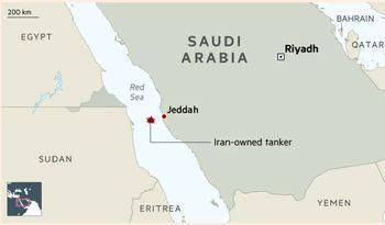 نقشه دقیق محل حادثه / افزایش قیمت نفت پس از حمله به نفتکش ایران
