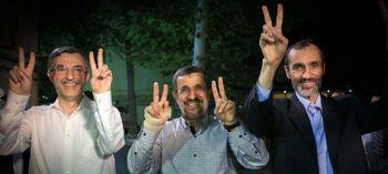 دو نفر همه کاره احمدینژاد بودند