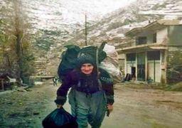روایت زنانی که در کوههای مرزی ایران بار زندگی را به دوش میکشند!؛ مادرم؛ کولبر