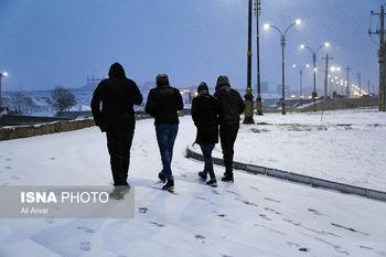 ورود سامانه بارشی جدید به کشور/ تداوم بارش برف و باران تا سه شنبه