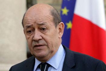وزیر خارجه فرانسه: واکنش ایران به تصمیم اشتباه آمریکا غلط بود