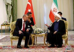 روحانی و اردوغان دیدار کردند+تصاویر