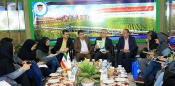 فضای سبز ذوبآهن اصفهان 84 برابر حد استادندارد های محیط زیستی