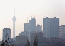 تصویر عجیب  یکی از خیابان های تهران