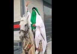 قاتل امام جمعه کازرون سوار بر اسب + فیلم