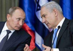 رایزنی پوتین و نتانیاهو در مورد اوضاع سوریه