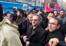 استاندار تهران در مراسم تشییع پیکر سپهبد سلیمانی: حضور میلیونی مردم اتمام حجت ملت ایران با دشمنان انقلاب است