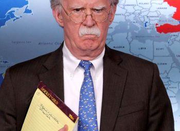 بولتون مشاور امنیتی نیست، مشاور از بین بردن صلح و امنیت است