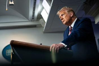بدشانسی ترامپ یا تئوری توطئه/ رئیس جمهور آمریکا از مناظرهها فرار کرد؟