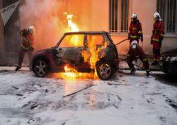 رکود اقتصاد فرانسه به خاطر تظاهرات بنزین