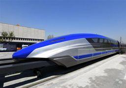راه اندازی قطاری در چین که ریل ندارد! +تصاویر
