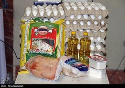 تامین درصد قابل توجهی ازسبد امنیت غذایی خانوارهای هدف