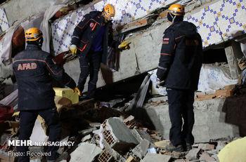 زلزله شدید در ترکیه+ جزئیات