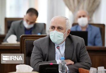 توضیحات سخنگوی وزارت خارجه درباره خبر ابتلای ظریف به کرونا