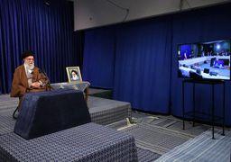 حضور ویدیوکنفرانسی رهبر انقلاب در ستاد ملی مدیریت بیماری کرونا