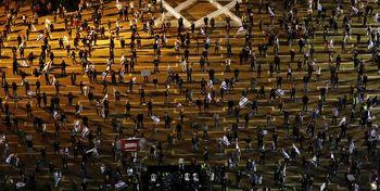 تظاهرات اعتراضی گسترده در تلآویو +تصاویر