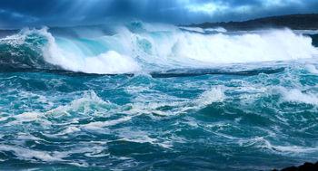 هشدار در مورد بالا آمدن آب دریاها