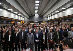 6 رام قطار تا پایان سال جاری به ناوگان بهره برداری متروی تهران اضافه می شود