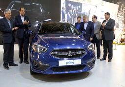 معرفی اولین خودرو ایرانی تولیدی روی پلتفرم SP100