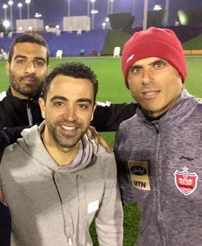 خدا حافظی بازیکن سابق بارسلونا با پرسپولیس !