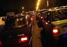 ترافیک فوق سنگین در هراز