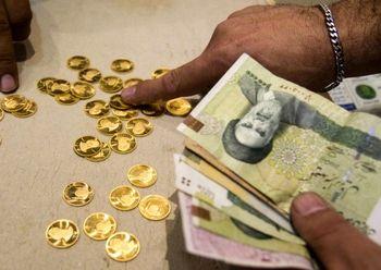تغییر مسیر سکه در روز کانال شکنی قیمت دلار
