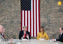 عکس جنجالی جدید از ترامپ و همسرش