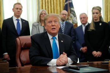 ترامپ: 49 انسانِ بیگناه بدون دلیل کشته شدند