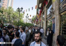 گزارش تصویری از بازار ارز امروز تهران