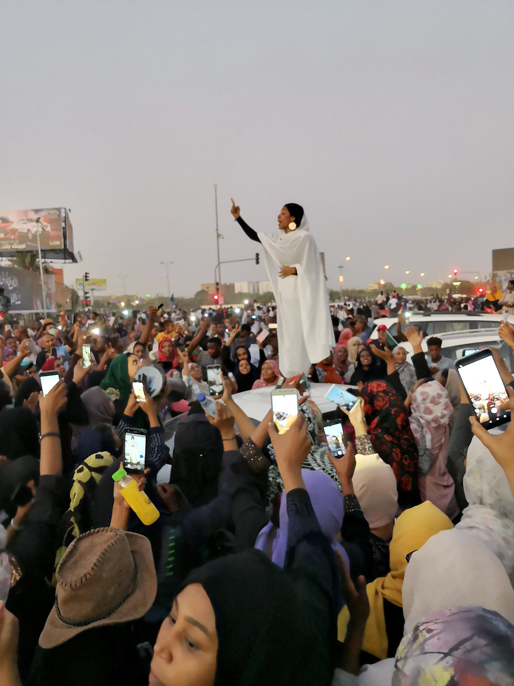 For months, protesters had been marching in the Sudanese capital, Khartoum, calling for the ouster of their leader of three decades, Omar al-Bashir. Three days after activist Alaa Salah, 22, was photographed on April 8 speaking atop a car, al-Bashir was gone. A new generation of Sudanese was heard.