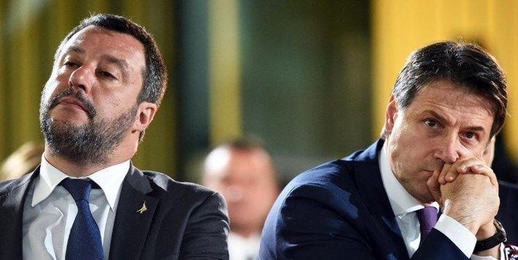اختلاف عمیق نخست وزیر و وزیر کشور ایتالیا در زمینه انحلال دولت