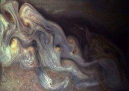 تصاویر باور نکردنی از غول منظومه شمسی