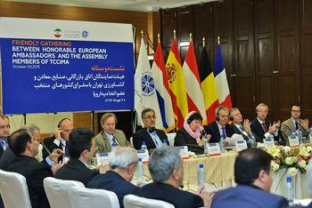 مشروح نشست رئیس اتاق تهران با سفرای 9 کشور اروپایی/چه فرصتهای اقتصادی ایران معرفی شدند؟