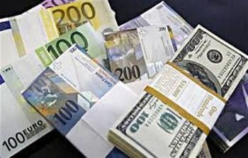 افزایش نرخ دلار در برابر یورو و ین