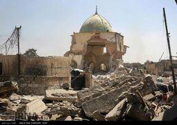 مسجد النوری عراق پس از آزادسازی موصل
