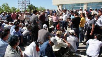 اعتصاب کارکنان یک میدان نفتی فراساحلی قزاقستان