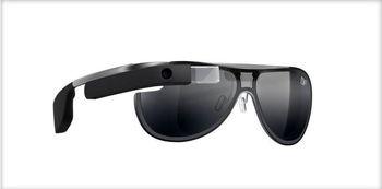 عینک هوشمند گوگل با طراحی دایان فون فورستنبرگ