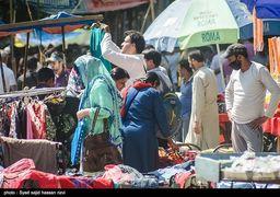 بازار عید قربان در کشمیر