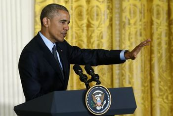 اوباما: هر مصوبهای را که مانع اجرای توافق هستهای باشد، وتو میکنم
