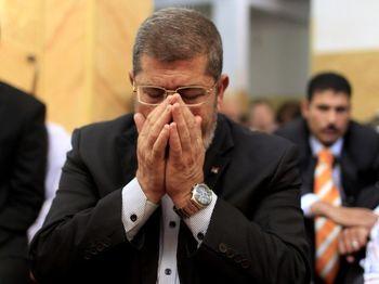 مرگ «محمد مرسی» حین جلسه محاکمه