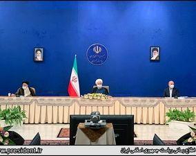 اولین حضور قالیباف در جلسه شورای عالی هماهنگی اقتصادی+گزارش تصویری