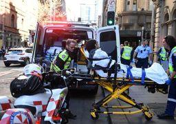 حمله با چاقو به عابران در سیدنی/ مهاجم گلوی یک زن را برید +تصاویر