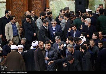 مراسم چهلمین روز درگذشت آیتالله هاشمی رفسنجانی