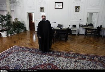 ضیافت نهار روحانی با رقبای انتخاباتی اش