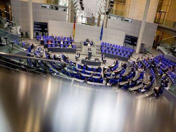 کشف یک بسته مشکوک در پارلمان آلمان