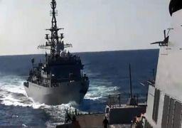 خطر برخورد 2 کشتی جنگی روسی و آمریکایی در دریای عرب