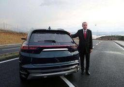 فیلم | رانندگی اردوغان با نخستین خودروی ملی ترکیه