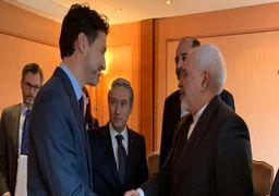 دیدار ظریف با جاستین ترودو و همتای کانادایی